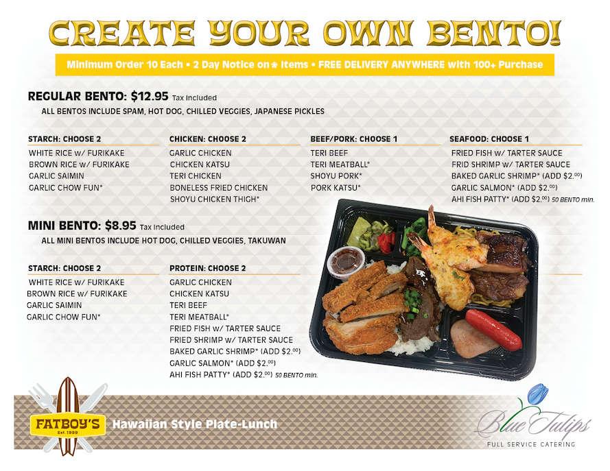 Create your bentos